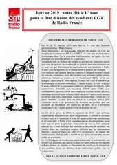 tract cgt   elections 2019 est cgt   janvier 2019