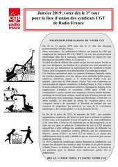 tract cgt   elections 2019 profession de foi