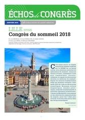 echo congres lille 2018