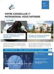 newsletter 1er tri 2019
