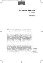 refraction education libertaire