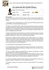 Fichier PDF le sommet de castel diaou