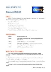reglement sportif f1 policar