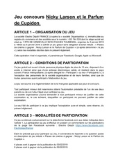 Fichier PDF reglement jeu concours nicky larson
