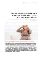 grossesse et maladies auto immunes au maroc