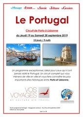 portugal   sept 19   vos voyages