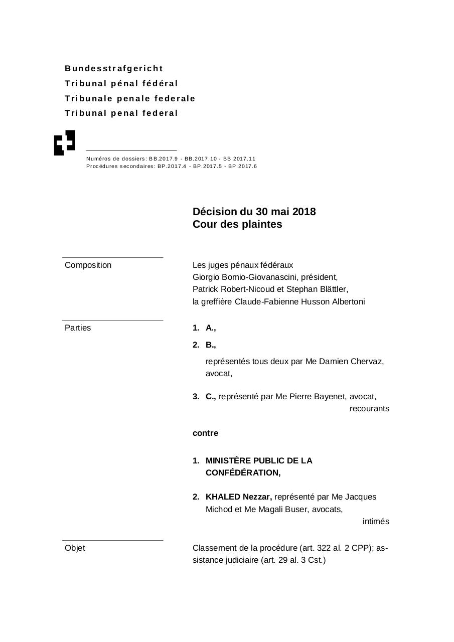 Aperçu du document 20180606_95_BB20179-11 Arret Nezzar .pdf - page 1/50