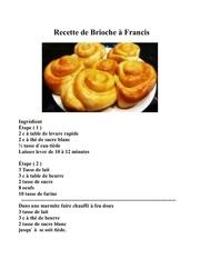 brioche a francis 2019 tres bonne