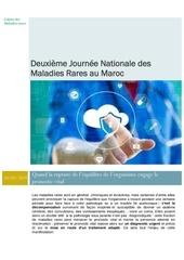 deuxieme journee nationale des maladies rares au maroc