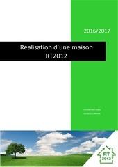 rapport de projet tuteure maison rt2012
