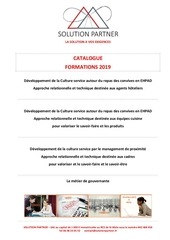 14 01 19 catalogue formations 2019 solution partner