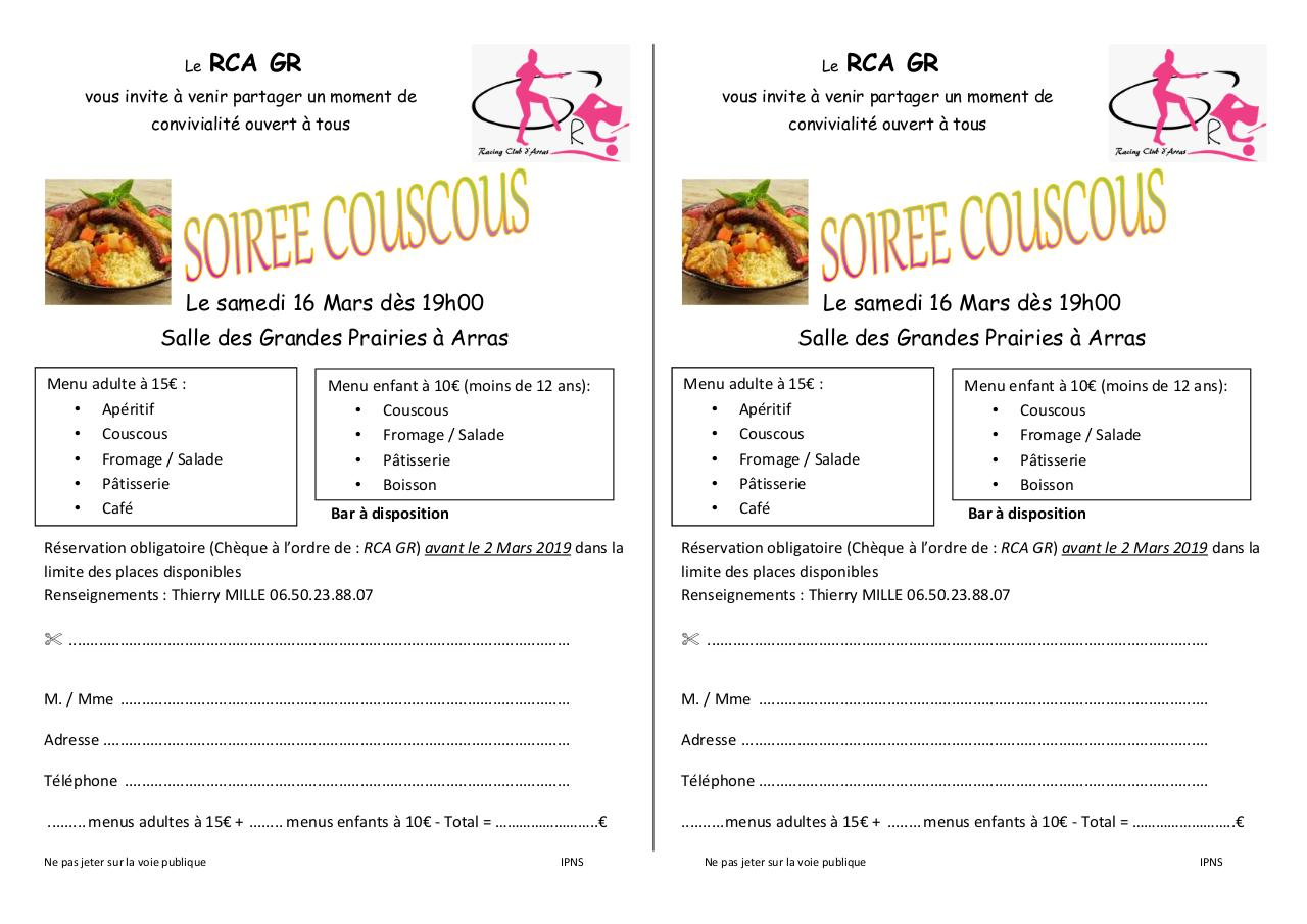 Aperçu du document Couscous RCA GR 16 mars 2019 .pdf - page 1/1