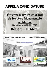 dossier de candidature du 2nd symposium