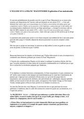 Fichier PDF leglise et la franc maconnerie explication dun malentendu