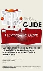 guide parental en lien avec le stress des enfants