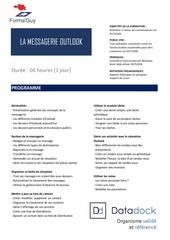 Fichier PDF programme   outlook