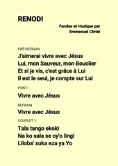 emmanuel christ   renodi lyrics