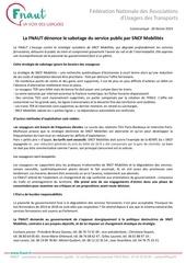 communique fnaut service public ferroviaire 20 02 2019