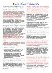 Fichier PDF informations sur les sejours et enfants precoces