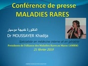 Fichier PDF conference de presse maladies rares 2019