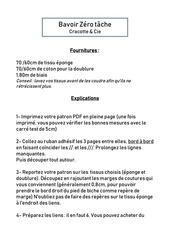 pdf explications bavoir