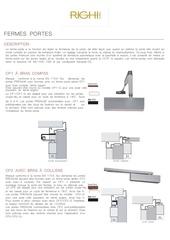 Fichier PDF fiches techniques   fermes portes hydrauliques