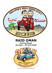 notre projet raid oman 2019