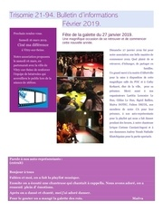 Fichier PDF trisomie 21 94 newsletter fevrier 2019