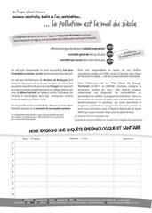 2019  petition enquete sanitaire
