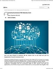 Fichier PDF eleiot   canonical annonce los ubuntu core