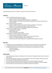 Fichier PDF annonce employee de bureau assurances