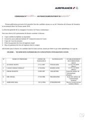 liste provisoire dadmissibilite bourse air france