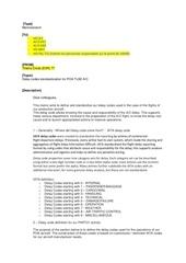 memo delay code definition
