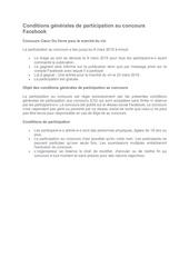 Fichier PDF conditions generales de participation au concours facebook