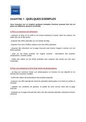 m2   chapitre 7   quelques exemples