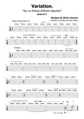 variation sur un theme dolivier gaucheretude n1tab2019 03 02