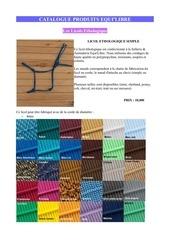 catalogue artisanat