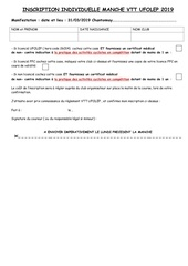 Fichier PDF inscription  individuelle manche vtt ufolep