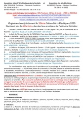 reglement 33eme salon lr 2019 rev02