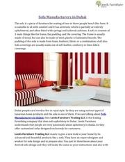 Fichier PDF sofa manufacturers in dubai