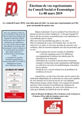 tract elections 8 mars 2018