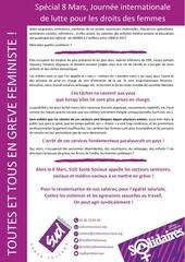 journee internationale de lutte pour les droits des femmes