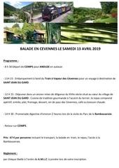amlc balade en cevennes  le 13 avril 2019