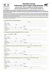 declarations forages 3 document cerfa