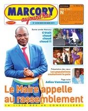journal  marcory aujourdhui n 34 du mois de mars 2019