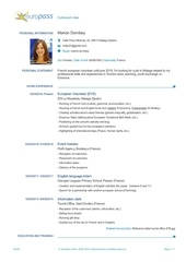 marion dombey english cv 1