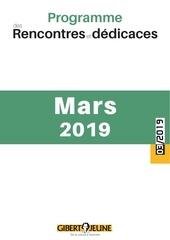 agenda des evenements mars