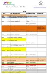 calendrier activites jeune 2018 2019 sans n