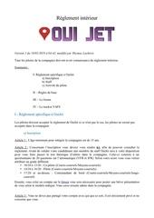 Fichier PDF regle ouijet