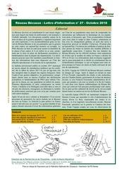 reseau becasse lettre info n 27 octobre 2018